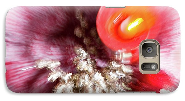 Galaxy Case featuring the photograph Abstract Christmas 4 by Rebecca Cozart