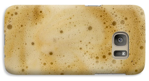 Galaxy Case featuring the photograph Abstract Coffee by Brian Roscorla