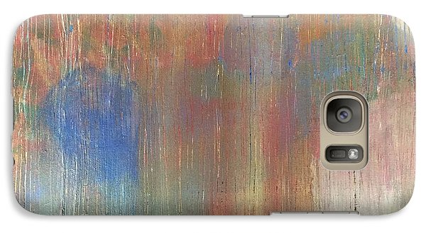 Galaxy Case featuring the painting Abstract Confetti 4 by Paula Brown