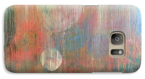 Galaxy Case featuring the painting Abstract Confetti by Paula Brown