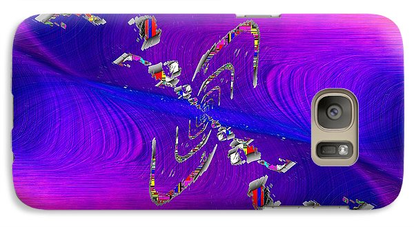 Galaxy Case featuring the digital art Abstract Cubed 350 by Tim Allen