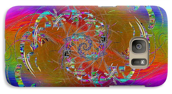 Galaxy Case featuring the digital art Abstract Cubed 351 by Tim Allen