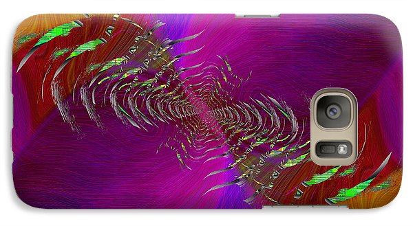 Galaxy Case featuring the digital art Abstract Cubed 352 by Tim Allen