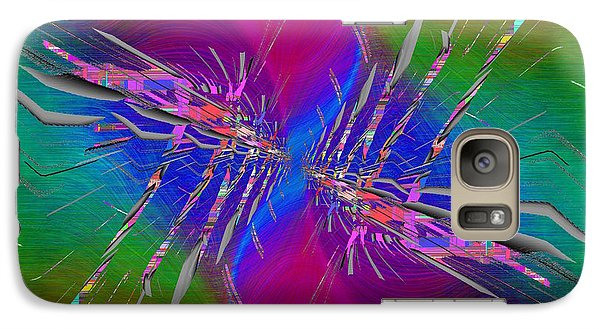 Galaxy Case featuring the digital art Abstract Cubed 353 by Tim Allen