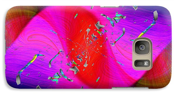 Galaxy Case featuring the digital art Abstract Cubed 354 by Tim Allen
