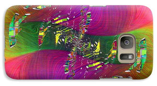 Galaxy Case featuring the digital art Abstract Cubed 357 by Tim Allen