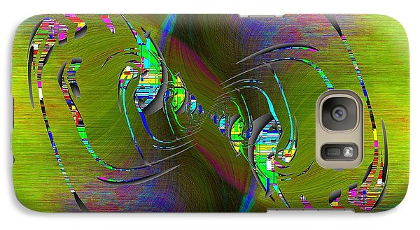 Galaxy Case featuring the digital art Abstract Cubed 361 by Tim Allen