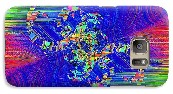 Galaxy Case featuring the digital art Abstract Cubed 362 by Tim Allen