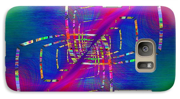 Galaxy Case featuring the digital art Abstract Cubed 363 by Tim Allen