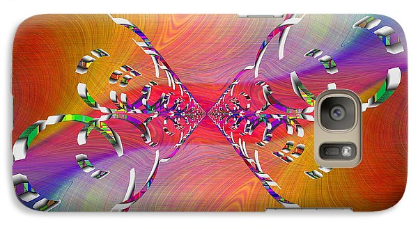 Galaxy Case featuring the digital art Abstract Cubed 364 by Tim Allen