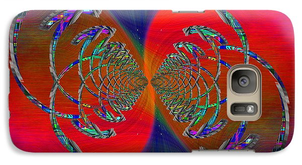 Galaxy Case featuring the digital art Abstract Cubed 366 by Tim Allen