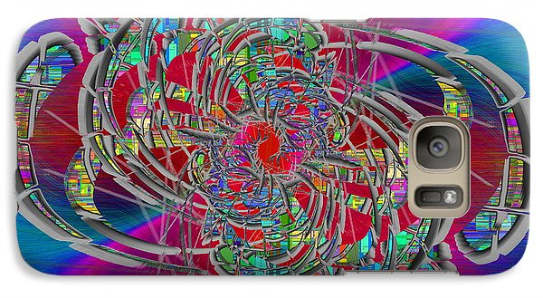 Galaxy Case featuring the digital art Abstract Cubed 367 by Tim Allen