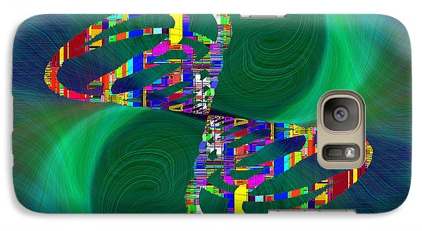 Galaxy Case featuring the digital art Abstract Cubed 374 by Tim Allen