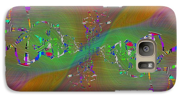 Galaxy Case featuring the digital art Abstract Cubed 376 by Tim Allen