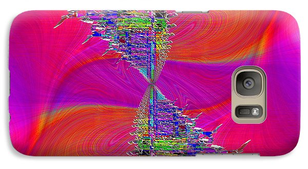 Galaxy Case featuring the digital art Abstract Cubed 377 by Tim Allen
