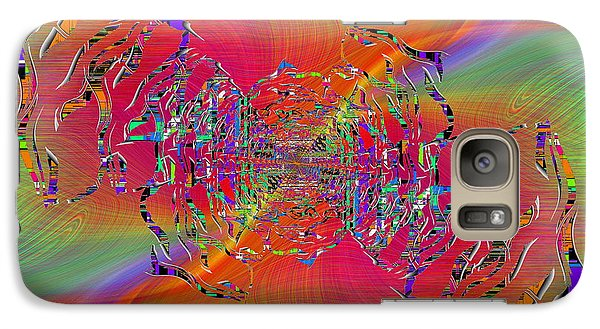 Galaxy Case featuring the digital art Abstract Cubed 382 by Tim Allen