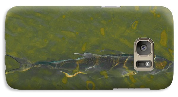 Galaxy Case featuring the photograph Abstract Fish 2 by Carolyn Dalessandro