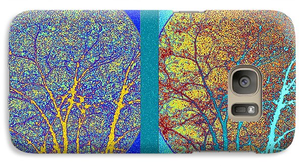 Galaxy Case featuring the digital art Abstract Fusion 276 by Will Borden