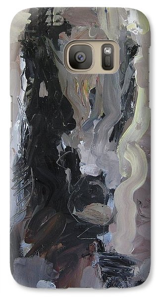 Galaxy Case featuring the painting Abstract Horse Painting by Robert Joyner