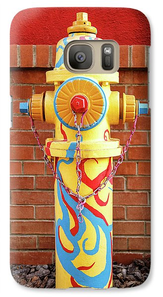Galaxy Case featuring the photograph Abstract Hydrant by James Eddy