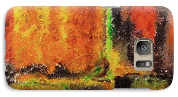 Galaxy Case featuring the mixed media abstract I by Dragica  Micki Fortuna