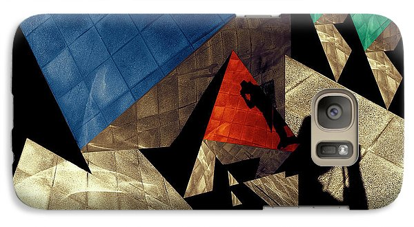 Galaxy Case featuring the photograph Abstract Iterations by Wayne Sherriff