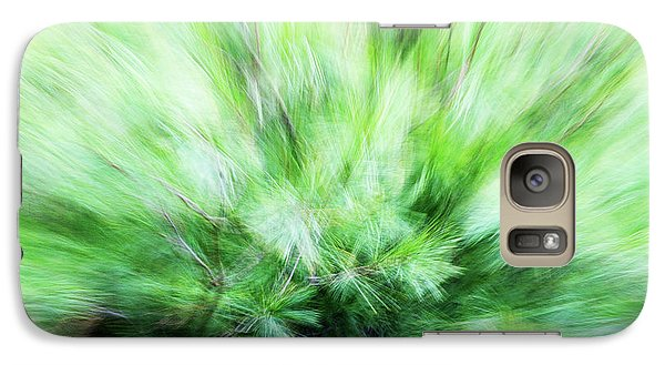 Galaxy Case featuring the photograph Abstract Leaves 7 by Rebecca Cozart