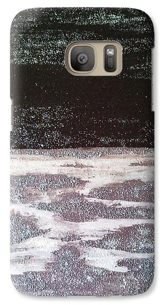 Galaxy Case featuring the painting Abstract Nail Polish Jg7 by Jasna Gopic