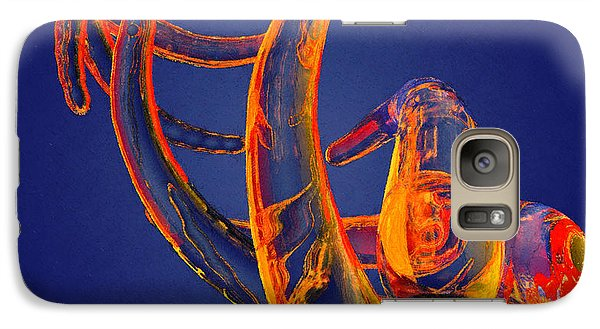 Galaxy Case featuring the photograph Abstract Number 13 by Peter J Sucy