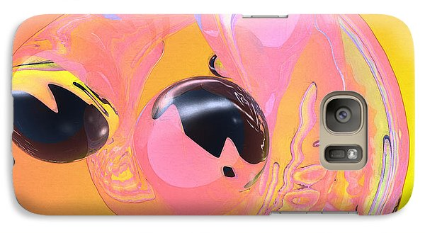 Galaxy Case featuring the photograph Abstract Number 5 by Peter J Sucy