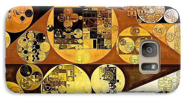 Galaxy Case featuring the digital art Abstract Painting - Mai Tai by Vitaliy Gladkiy