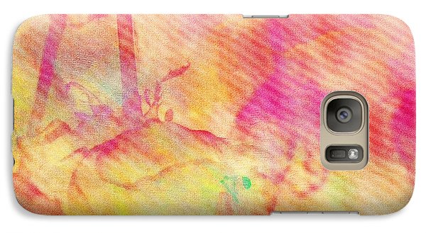 Galaxy Case featuring the photograph Abstract Photography 003-16 by Mimulux patricia no No