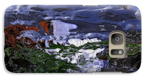 Galaxy Case featuring the photograph Abstract Rapids by Sami Tiainen