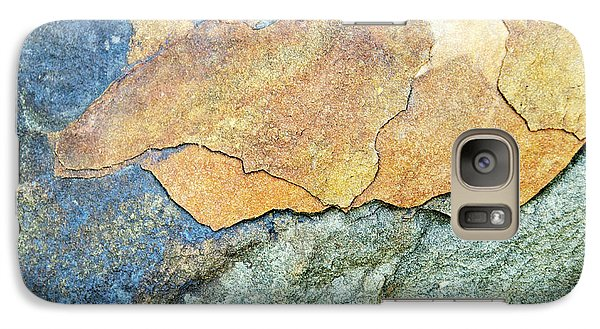 Galaxy Case featuring the photograph Abstract Rock by Christina Rollo