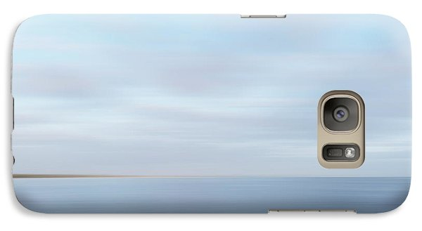Galaxy Case featuring the photograph Abstract Seascape by Ivy Ho