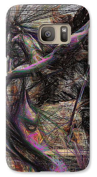 Abstract Sketch 1334 Galaxy S7 Case