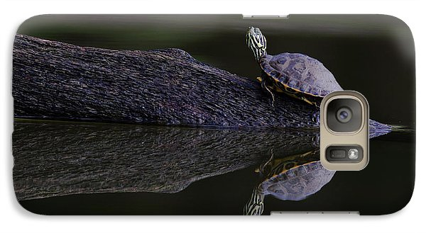 Galaxy Case featuring the photograph Abstract Turtle by Douglas Stucky