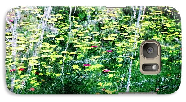 Galaxy Case featuring the photograph Abstract Water by Melissa Stoudt