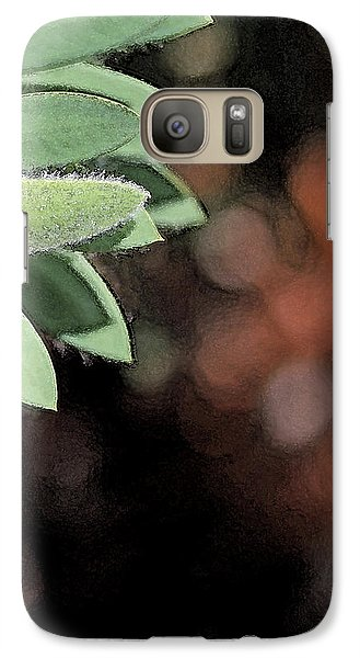Galaxy Case featuring the photograph Abstract Watercolor by Judy Vincent