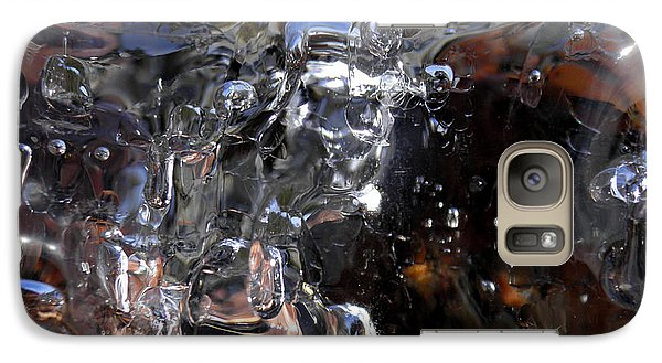 Galaxy Case featuring the photograph Abstract Waterfall by Sami Tiainen