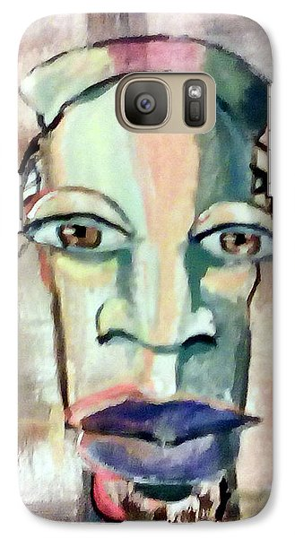 Galaxy Case featuring the painting Abstract Young Man #2 by Raymond Doward