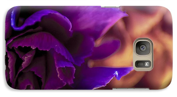 Galaxy Case featuring the photograph Abstracting The Flowers by Karen Musick