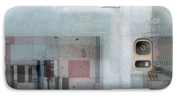 Galaxy Case featuring the digital art Abstractitude - C7 by Variance Collections