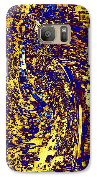 Galaxy Case featuring the digital art Abstractmosphere 3 by Will Borden
