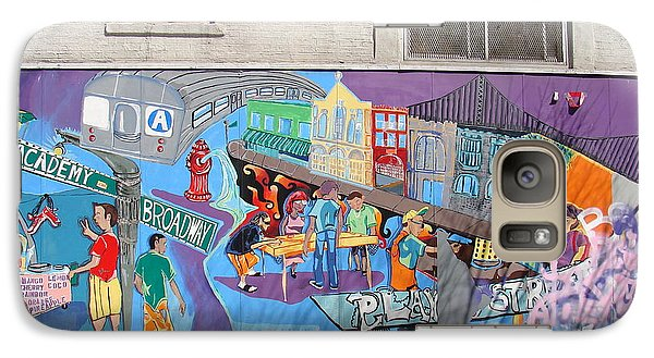 Galaxy Case featuring the photograph Academy Street Mural by Cole Thompson
