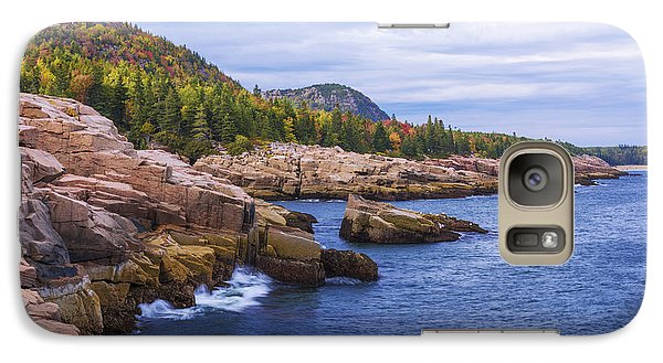 Galaxy Case featuring the photograph Acadia's Coast by Chad Dutson
