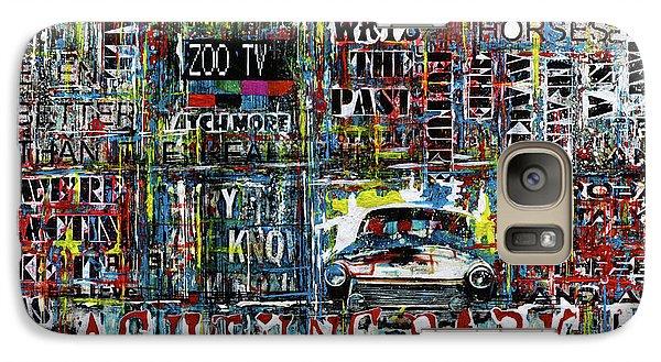 U2 Galaxy S7 Case - Achtung Baby by Frank Van Meurs