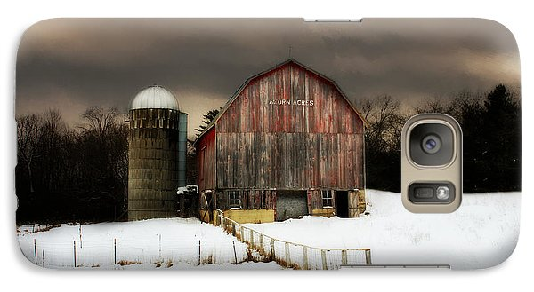 Galaxy Case featuring the photograph Acorn Acres by Julie Hamilton