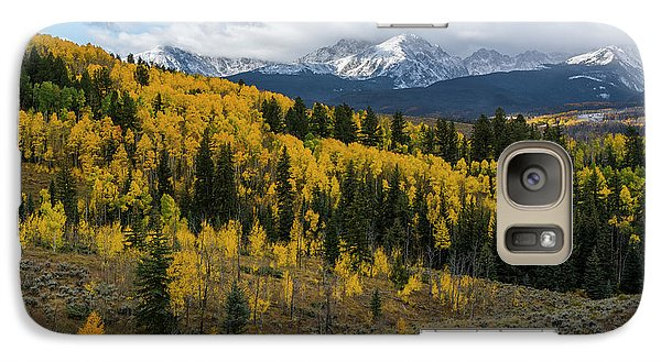 Galaxy Case featuring the photograph Acorn Creek Autumn by Aaron Spong
