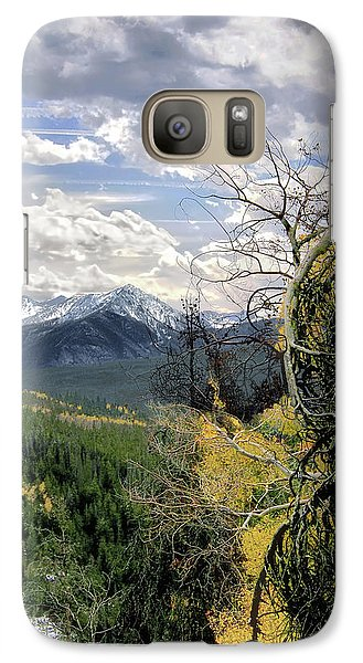 Galaxy Case featuring the photograph Acorn Creek Trail by Jim Hill